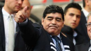 Diego Maradona. (Getty)
