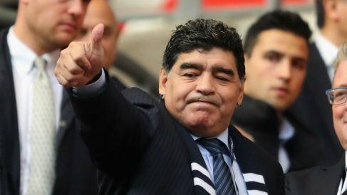 Diego Maradona será entrenador del Dinamos de Sinaloa. (Getty)