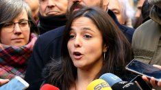 María Sirvent, diputada de la CUP en el Parlament.