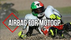 Así sería el airbag en el Mundial de Motociclismo.