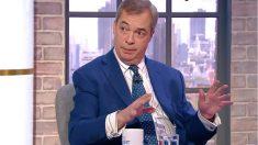 Nigel Farage, ex líder del UKIP y eurodiputado.
