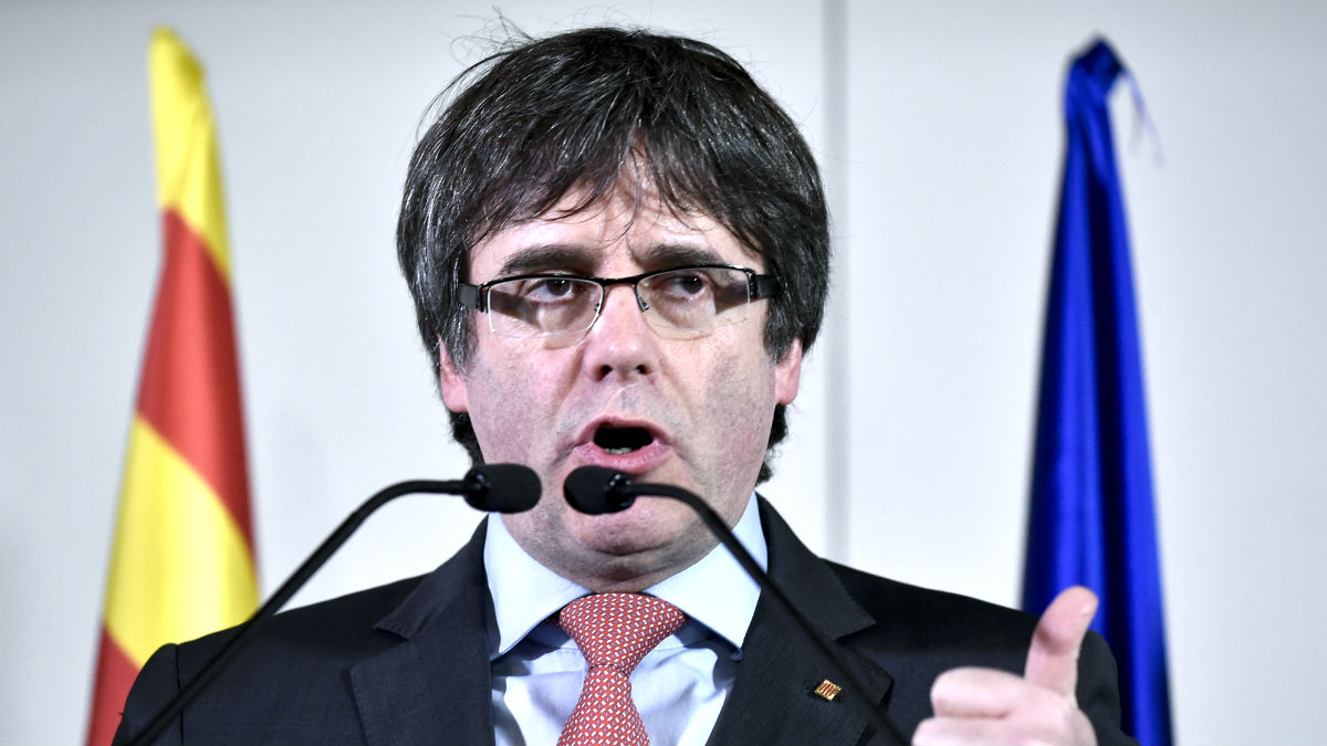 Puigdemont en una imagen del pasado mes de diciembre en Bruselas (Foto: AFP).