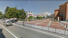 Avenida de la Magdalena, en Colindres (Cantabria), donde se produjo el suceso.
