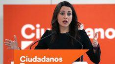 Inés Arrimadas, líder de Ciudadanos en Cataluña. (EFE)