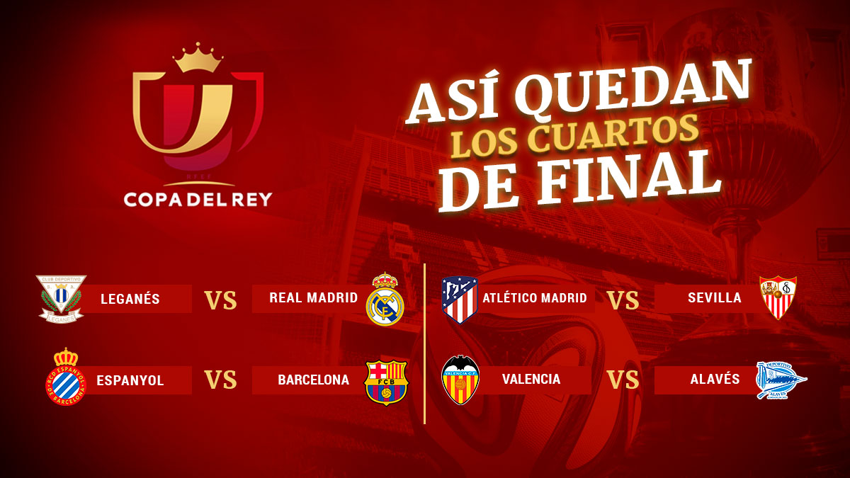 legan s vs real madrid y espanyol vs barcelona en los