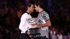Rafa Nadal y Federer, los favoritos para repetir la final de 2017. (Getty)