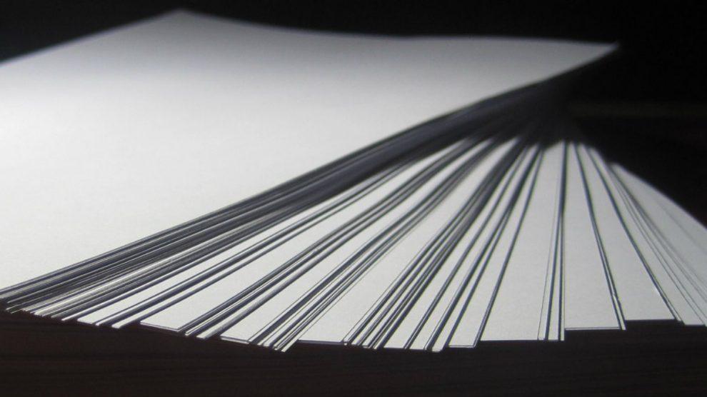 El papel se podría reutilizar mucho más