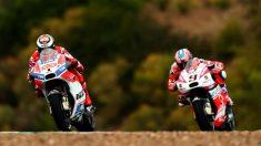 Danilo Petrucci no considera importante la diferencia de sueldo que tiene respecto a Jorge Lorenzo, y sí unos resultados sobre la pista que tampoco han diferido tanto del que se supone que es el piloto estrella de Ducati. (Getty)