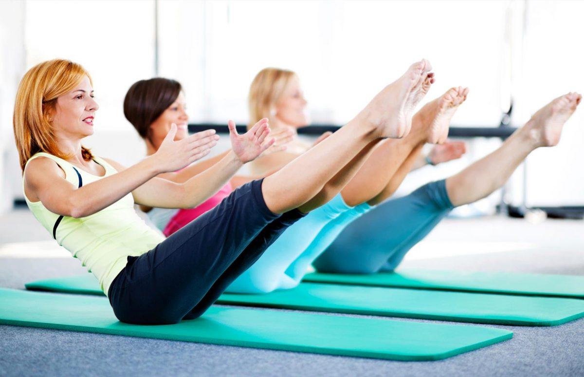 El pilates está basado en movimientos muy controlados.
