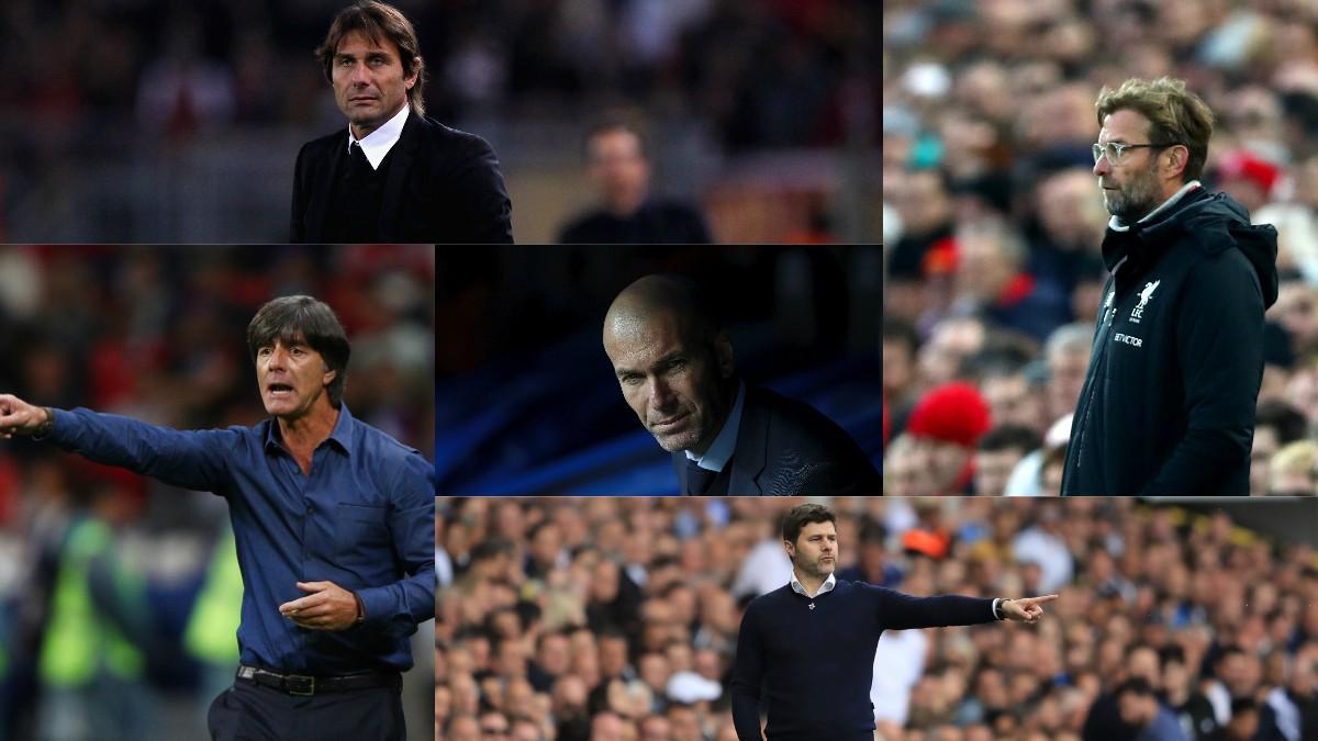 Zinedine Zidane y los técnicos que quieren ocupar su silla