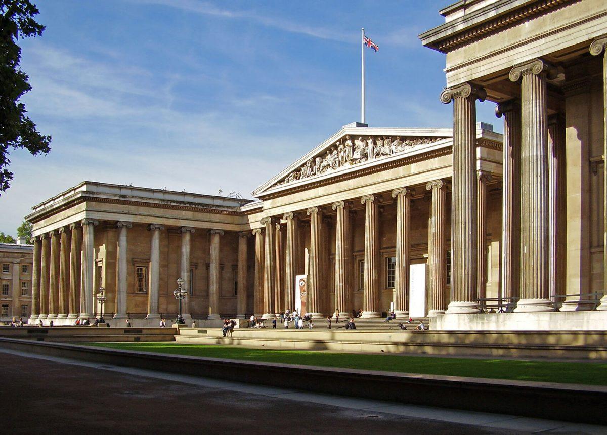 Museo Británico, en Londres.