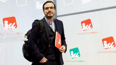 Alberto Garzón, coordinador federal de IU. (Foto: EFE)