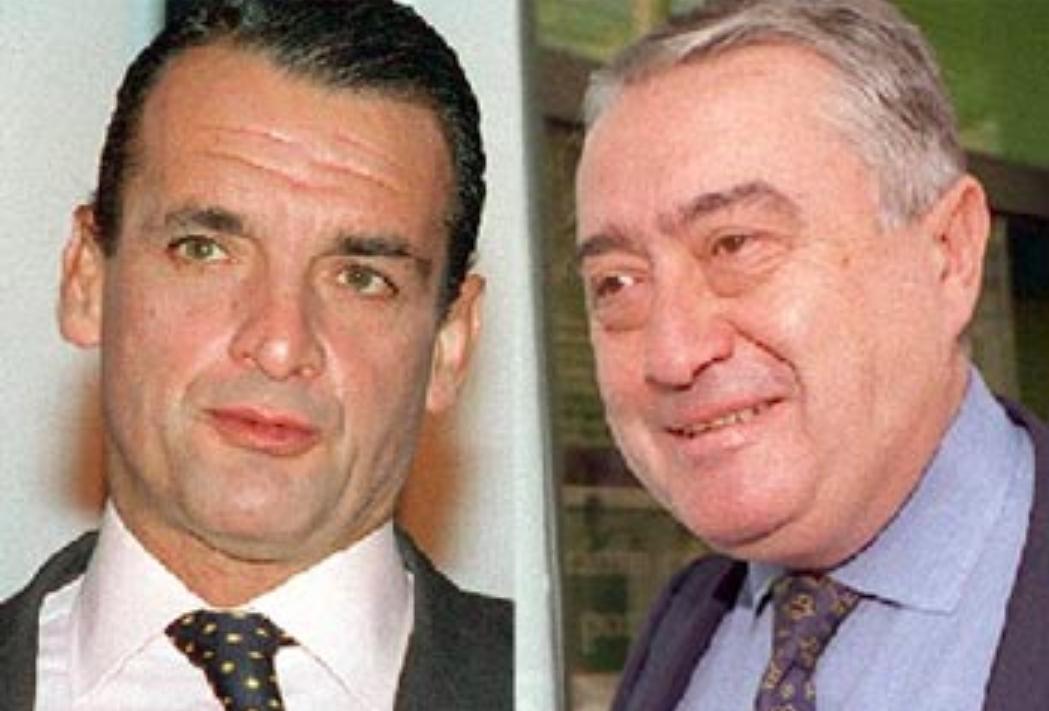 Mario Conde (Izquierda) y Arturo Romaní (Derecha).