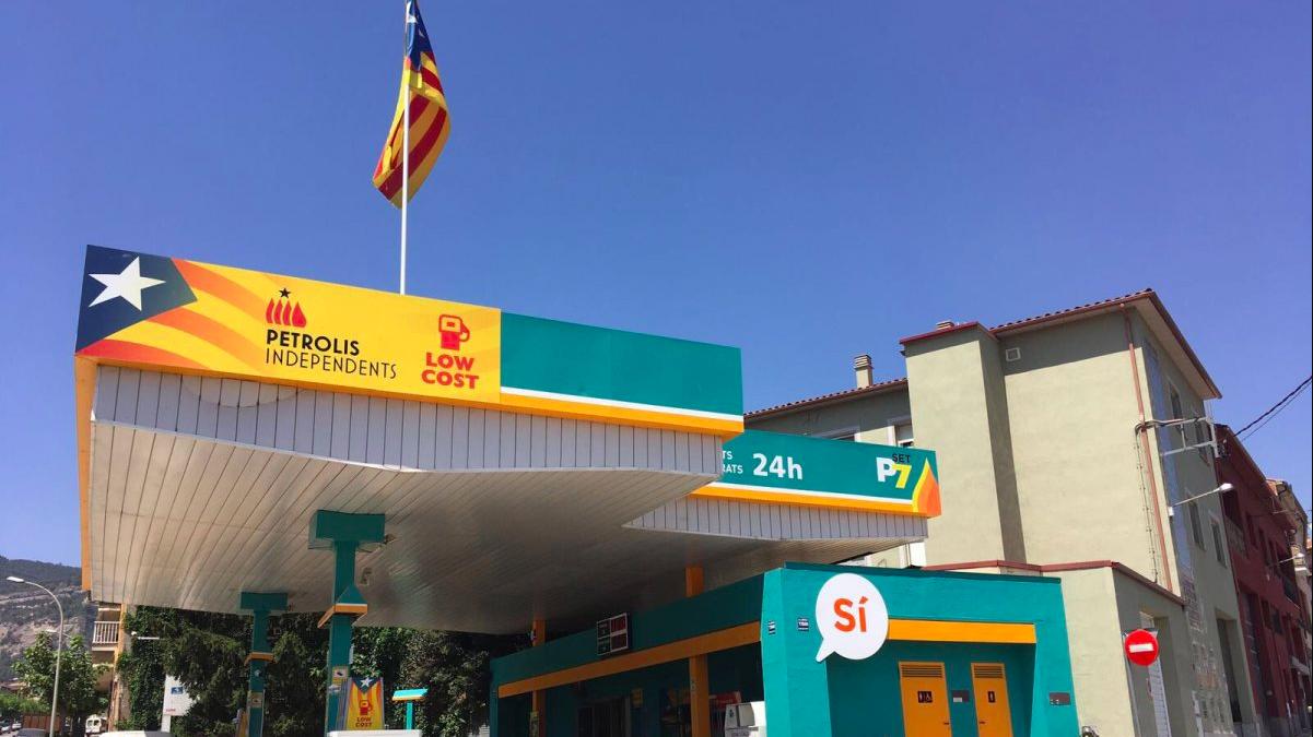 Una de las gasolineras de Petrolis Independents.