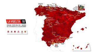 Así será la Vuelta a España 2018.