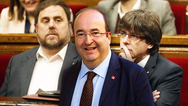 """Socialistas e independentistas trabajan ya juntos para impulsar un referéndum """"pactado"""""""