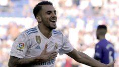 Dani Ceballos celebra un gol en el partido frente al Alavés. (AFP)