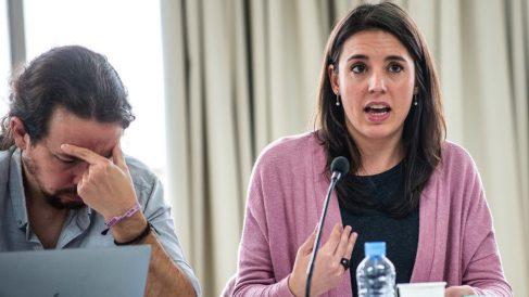 Irene Montero y Pablo Iglesias. (Foto: Podemos)