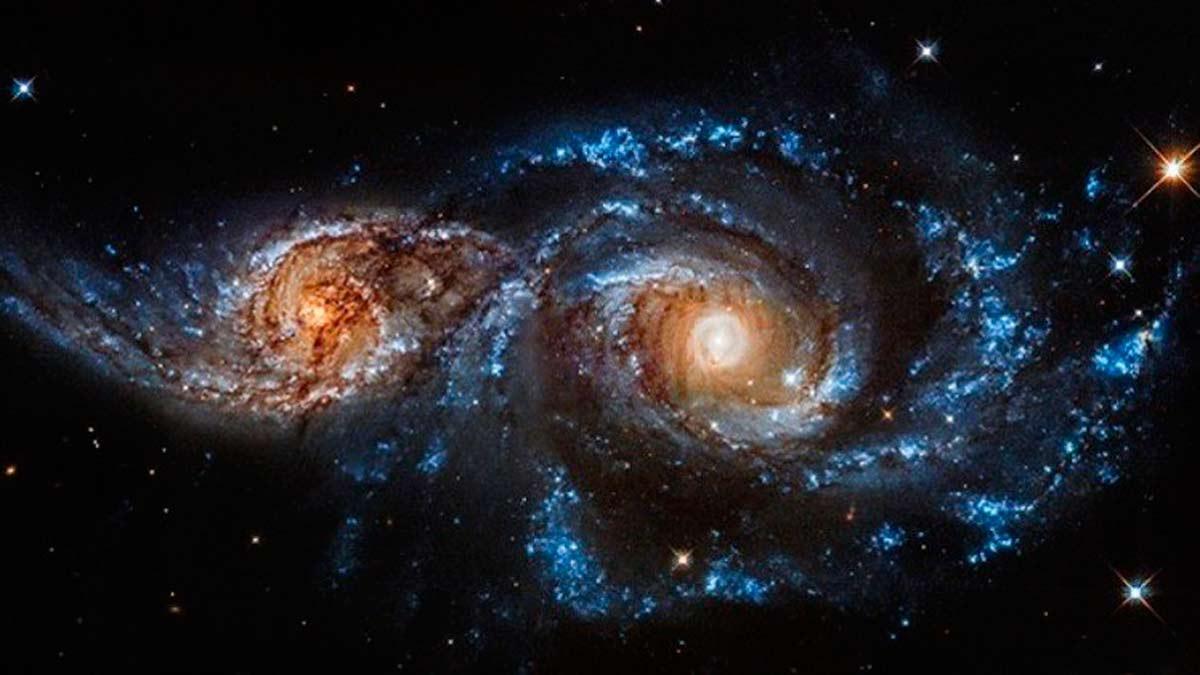 La Vía Láctea y Adrómeda colisionarán dentro de 4.500 millones de años