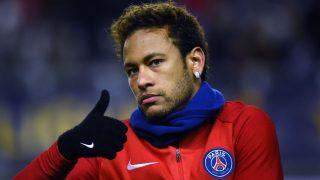 Neymar durante un partido del PSG. (AFP)