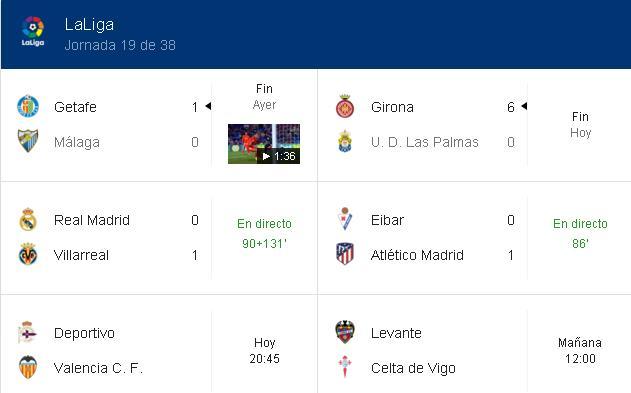 Google tampoco se creía la derrota del Madrid: ¡dio 131 minutos de descuento!