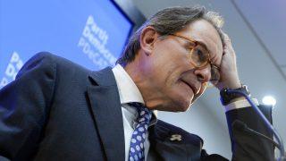 Artur Mas, ex presidente de la Generalitat de Cataluña. (Foto: AFP)