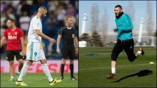 Karim Benzema ultima su recuperación.
