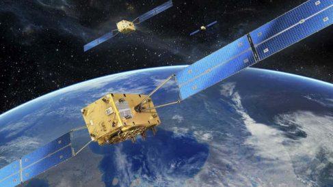 Satélite del sistema Galileo.