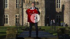 Giggs durante su presentación como nuevo seleccionador de Gales. (AFP)