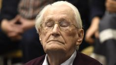 Oskar Groening, el contable de Auschwitz (Foto: AFP)
