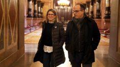Elsa Artadi y Jordi Turull. (Foto: EFE)