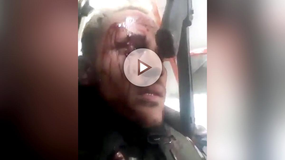 Óscar Pérez, acorralado a tiros por las fuerzas especiales del dictador venezolano Nicolás Maduro.
