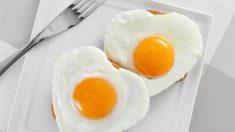 El huevo es uno de los alimentos más ingeridos por los deportistas debido a su alto contenido en proteínas.
