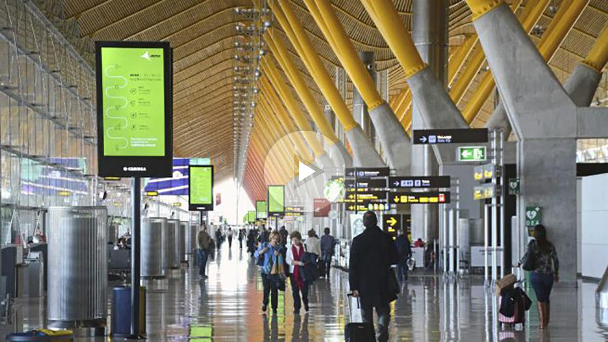 El Aeropuerto Madrid-Barajas Adolfo Suárez. (Foto: EFE)