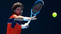 Feliciano-López en-su-debut-en-Melbourne-(Getty)