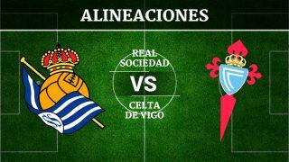 Consulta las posibles alineaciones del Real Sociedad vs Celta de Vigo
