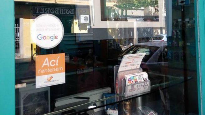 Campaña para marcar tiendas de Castellón que hablen y atiendan en valenciano