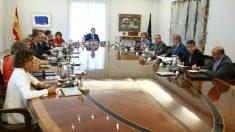 Consejo de Ministros del Gobierno de Mariano Rajoy.
