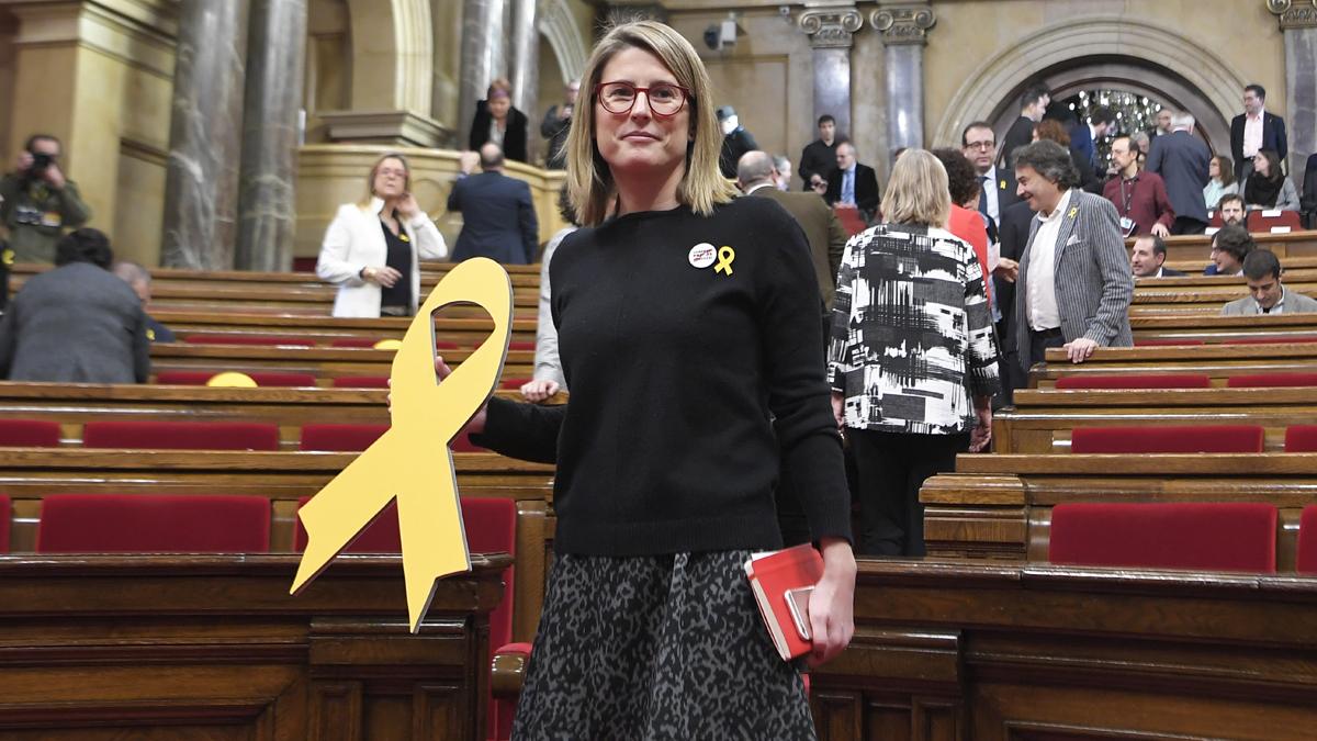 Elsa Artadi, diputada de JxCat. (Foto: AFP)