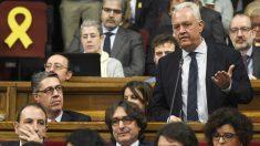 Santi Rodríguez, diputado del PP en el Parlament de Cataluña. (Foto: AFP)