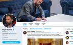 Torrent también se acobarda: borra la 'república catalana' en su perfil de Twitter