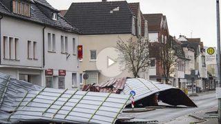 Temporal Friederike (Foto: AFP)