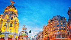 Gran Vía de Madrid. Foto. Istock)