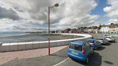 Paseo marítimo de Kirkclady (Escocia), donde se produjeron las agresiones sexuales.