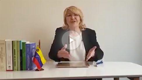 La fiscal general legítima de Venezuela, Luisa Ortega Díaz.