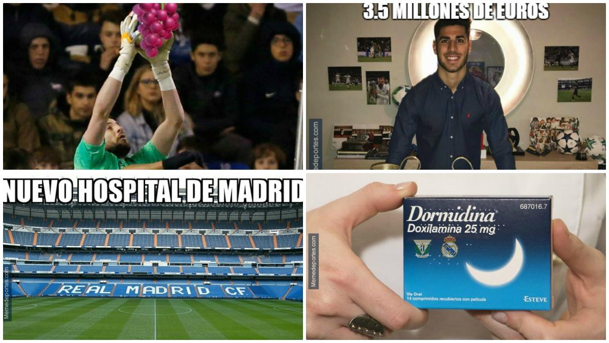 Los mejores memes del Leganés vs Real Madrid.