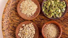 Las semillas pueden incluirse en postres y ensaladas.