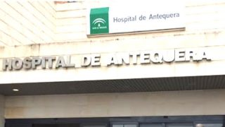 Fachada del Hospital de Antequera.