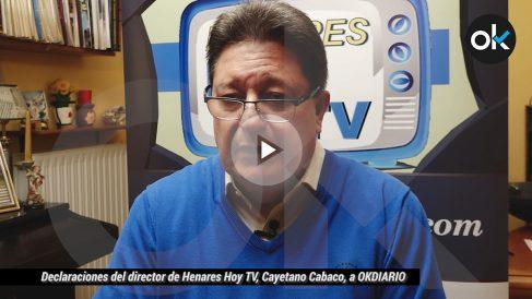 Declaraciones del director de Henares Hoy TV, Cayetano Cabaco, a OKDIARIO.