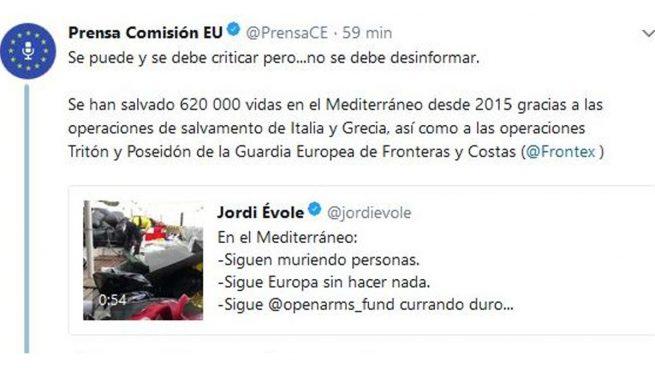 Évole miente intentando dar lecciones morales y la Comisión Europea le deja sin palabras con un zasca demoledor